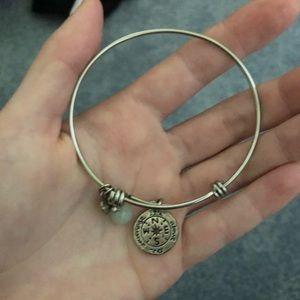 compass dangle bracelet